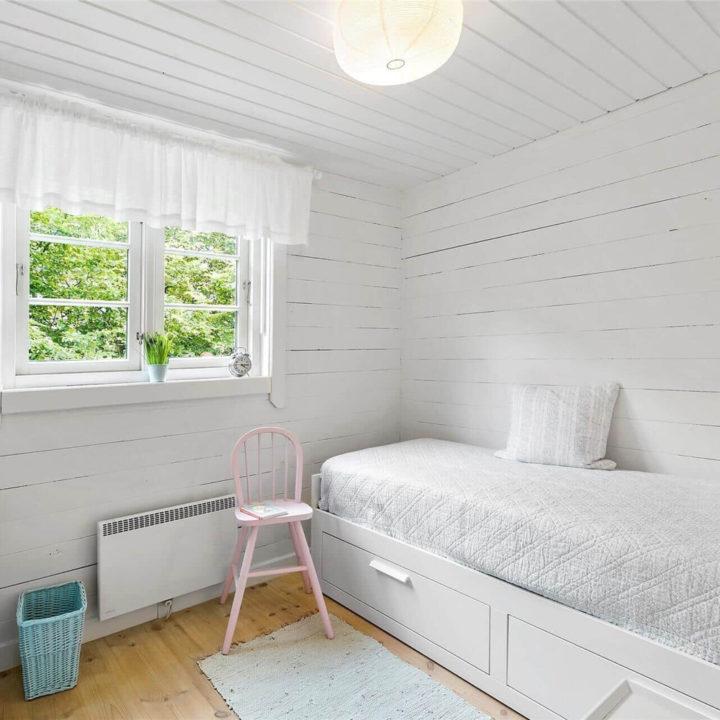 Single slaapkamer in een vakantiehuis in Denemarken