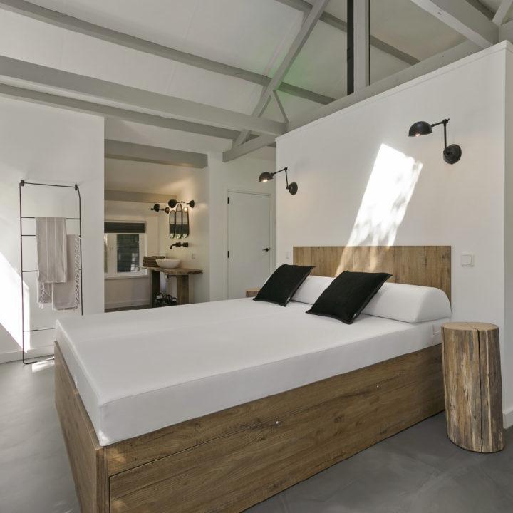 Lounge bed in de wellness