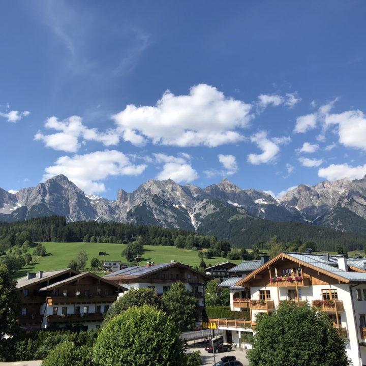 Maria Alm in de bergen in Oostenrijk