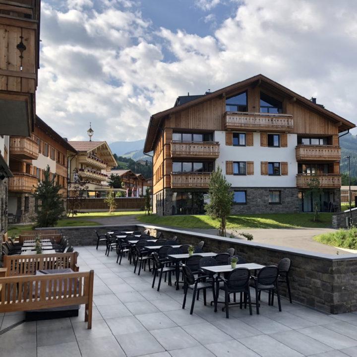 Appartementen in karakteristieke Oostenrijkse bouwstijl