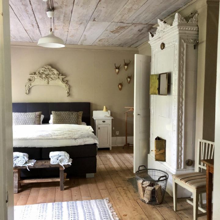 Grote slaapkamer in de B&B