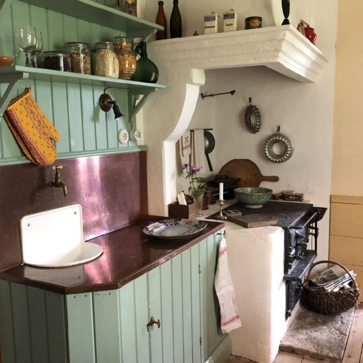 Ouderwetse keuken