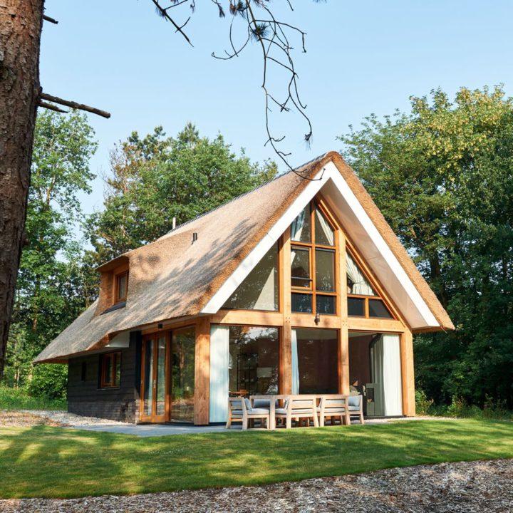 Vakantiehuis in het bos in Drenthe