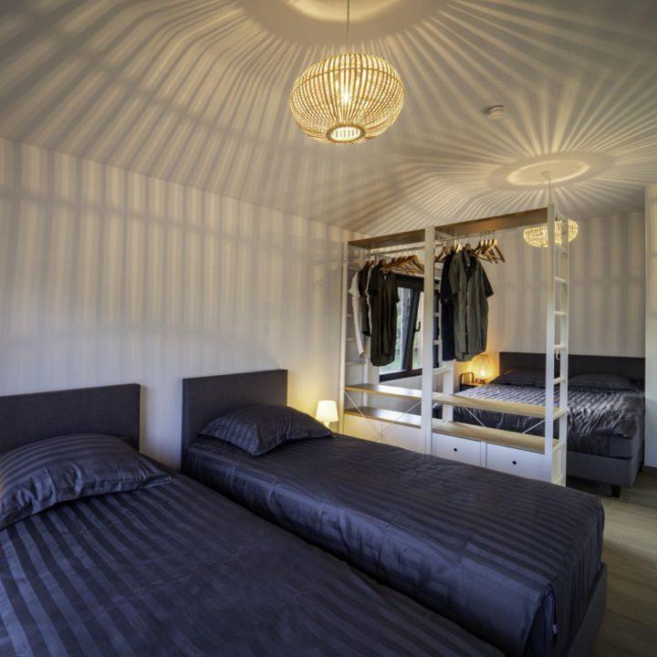 Slaapkamer voor vier personen