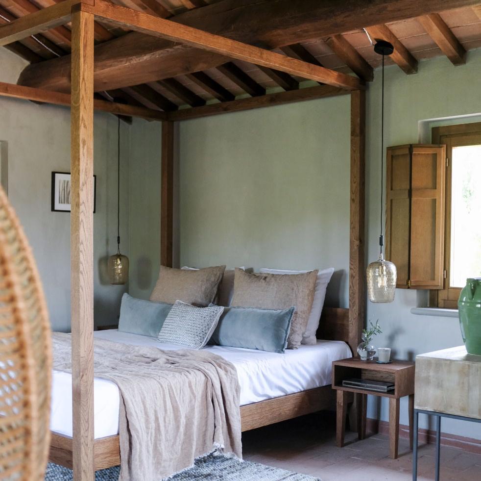 Luxe hotelkamer, perfect voor een weekendje weg in Umbrië