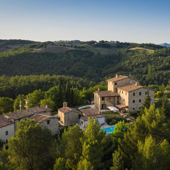 Italiaans vakantieadres met zwembad in Umbrië