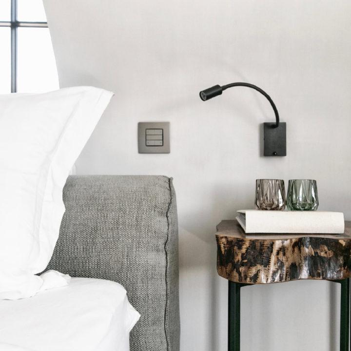Luxe bed and breakfast kamer in Scandinavische sfeer
