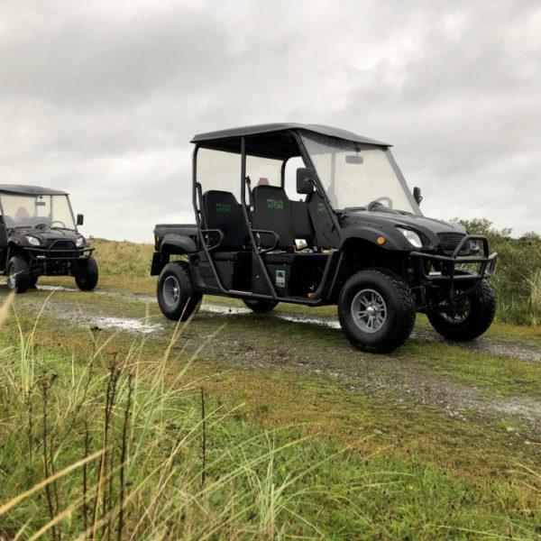 Elektrische terreinwagens op Ameland