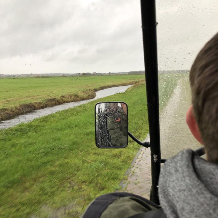 Toeren op Ameland met een elektrische terreinwagen