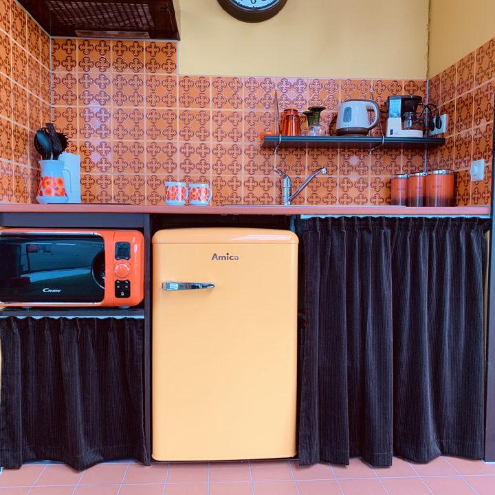Keuken uit oma's tijd