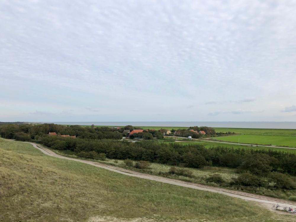 Uitzicht vanaf de Zeekraal Terschelling