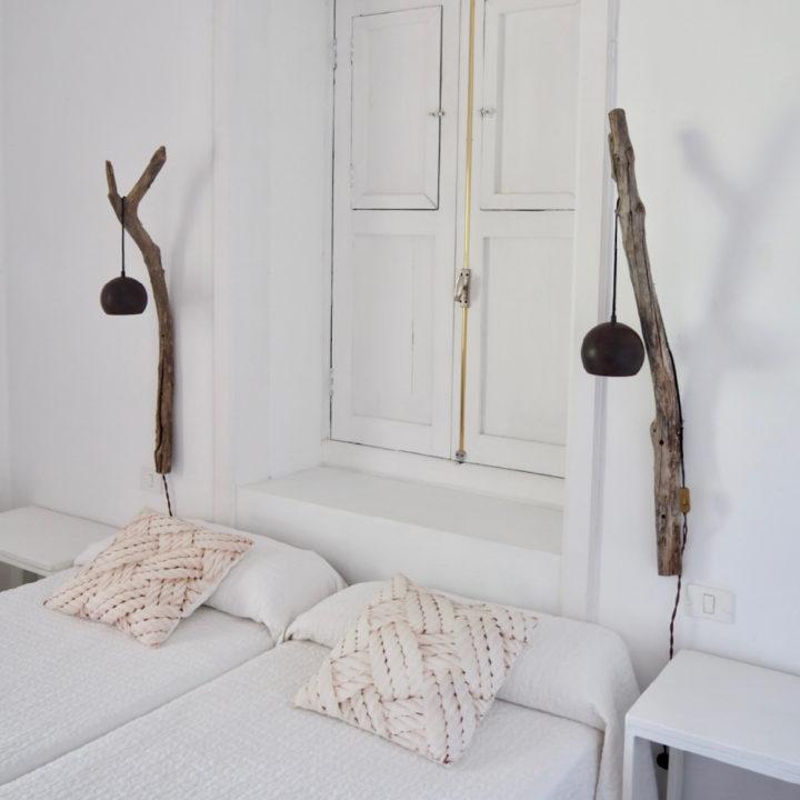 Slaapkamer van het vakantiehuis op Tenerife