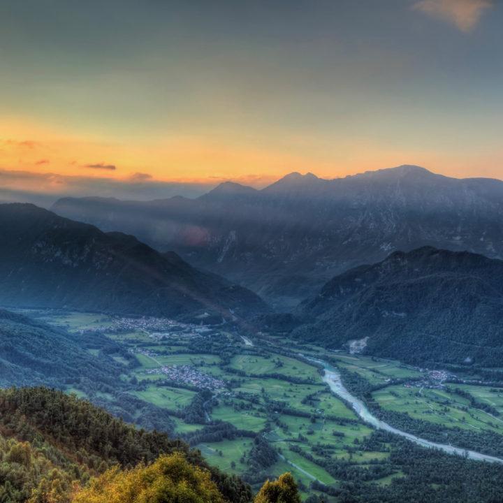 Een groene vallei