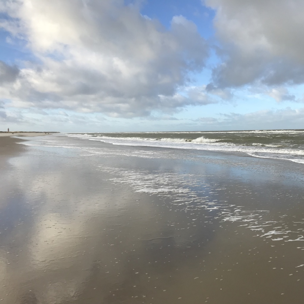 Strandwandeling in Ouddorp