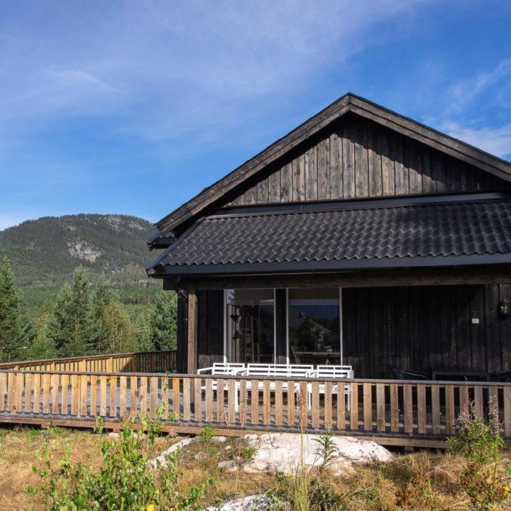 Vakantiehuis in de bergen in Noorwegen