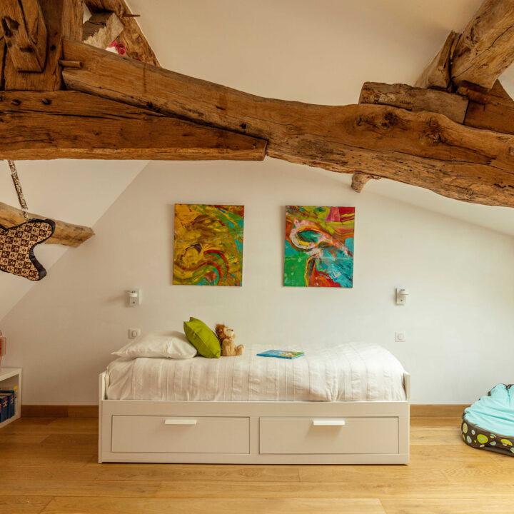 Kinderkamer in het Franse vakantiehuis