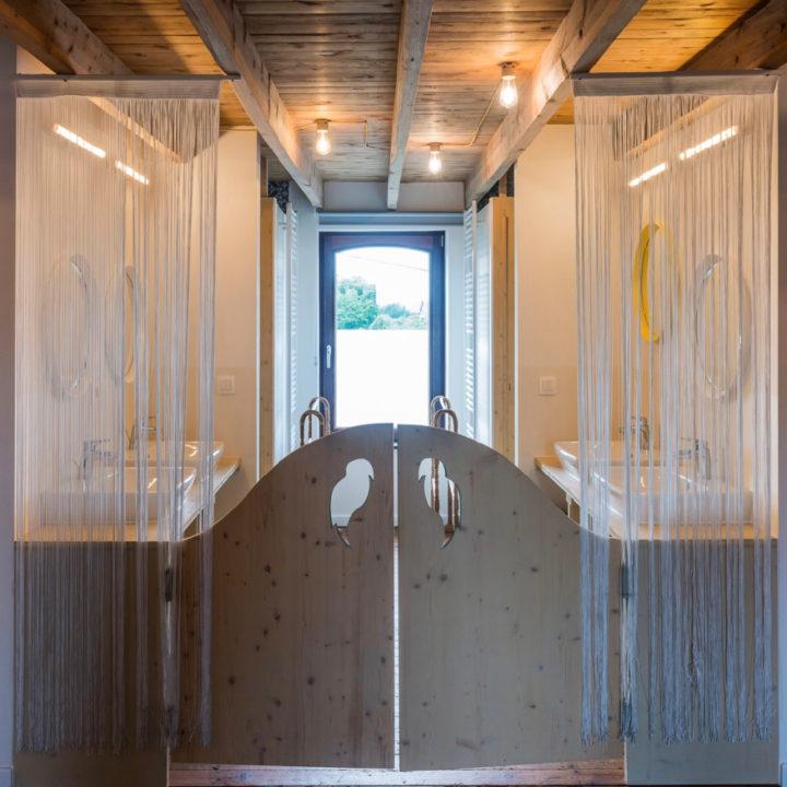 Klapdeurtjes voor de badkamer