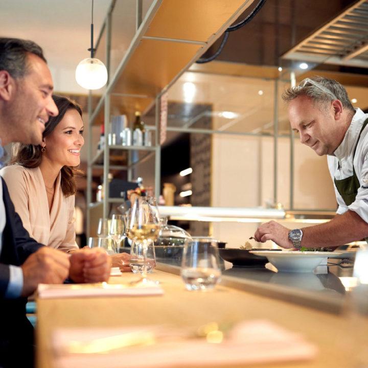 Open keuken in het Anthony hotel