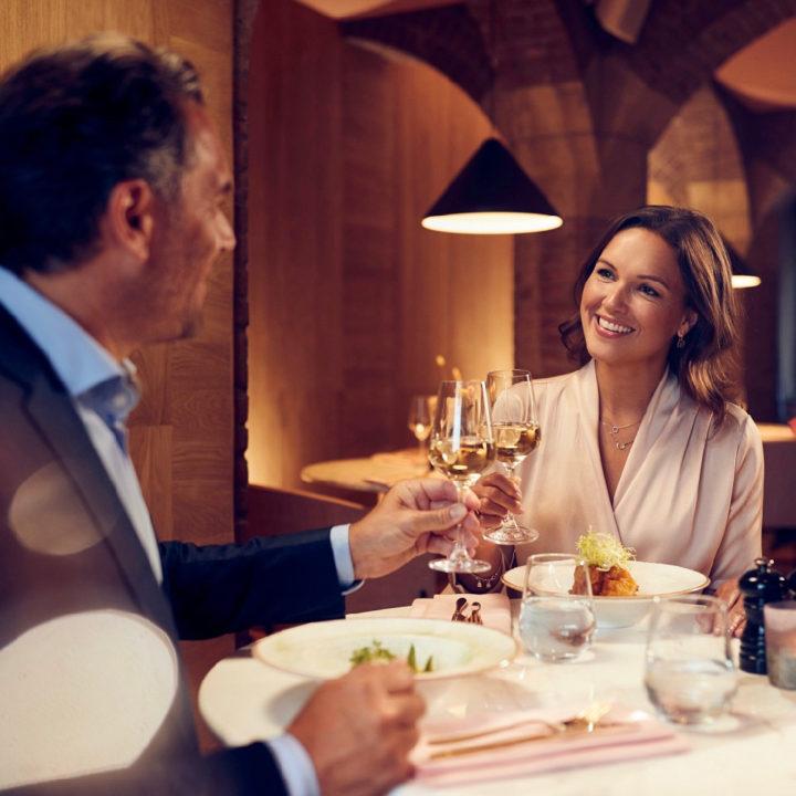Romantisch dineren in het Anthony Hotel