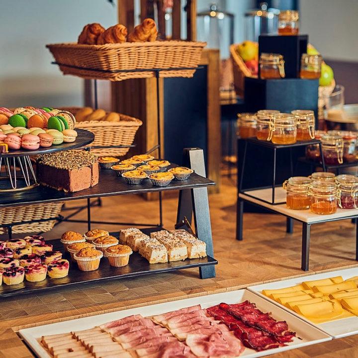 Ontbijtbuffet in het boutique hotel in Utrecht