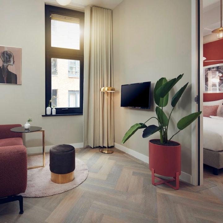 Suite in het boutique hotel