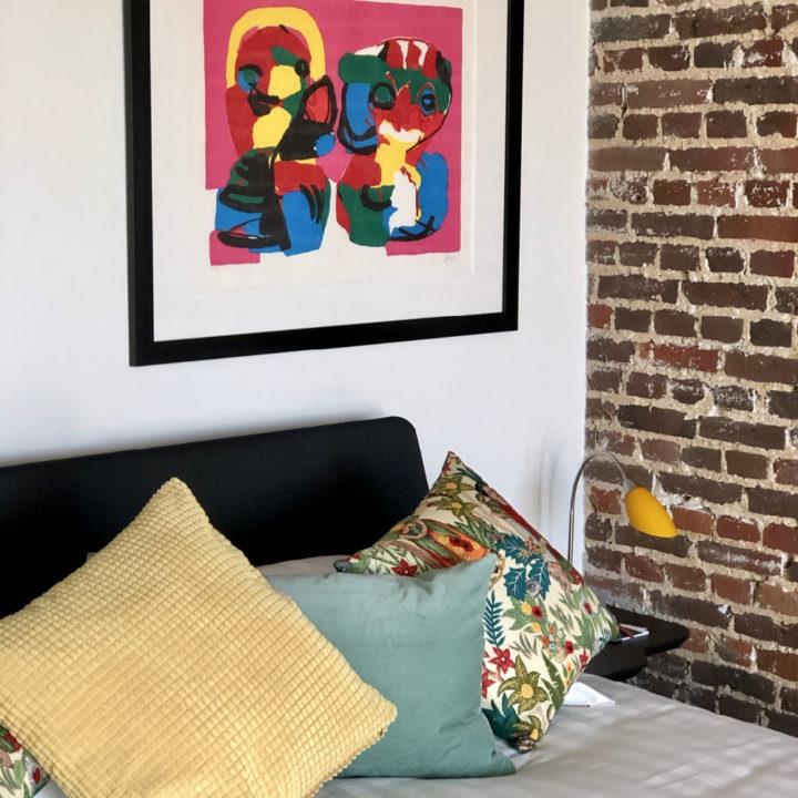 Logeren tussen kunst en kleur