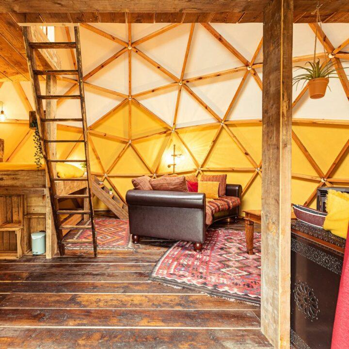 Domes als groepsaccommodatie in Drenthe