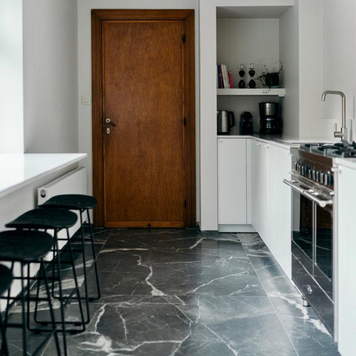 Open keuken in het vakantiehuis