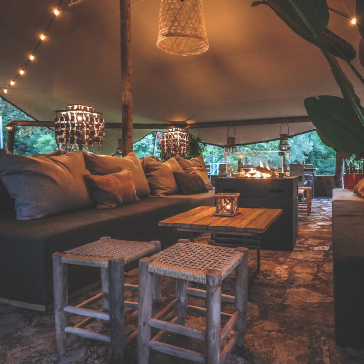 Lounge tent in Toscane