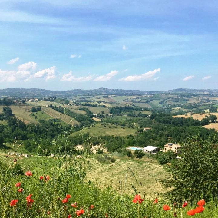 Agriturismo in de heuvels van Le Marche
