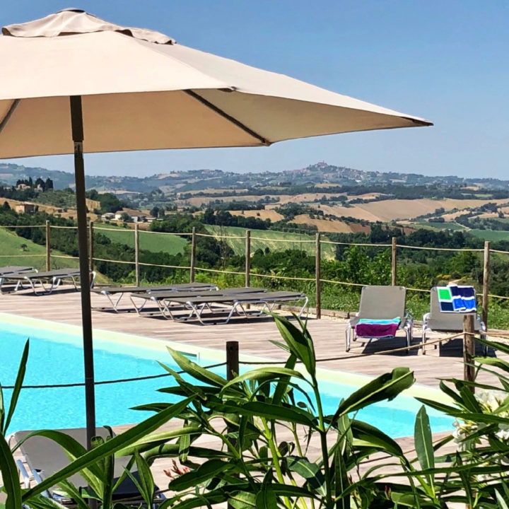 Agriturismo met zwembad in Le Marche