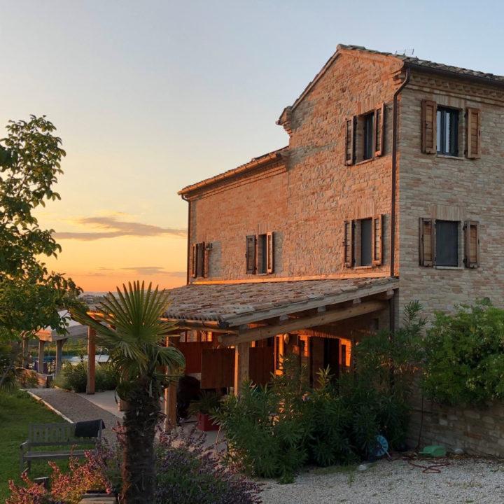 Italiaans landhuis met vakantie appartementen