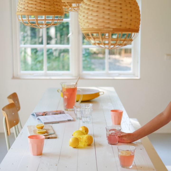 Limonade in het vakantiehuis