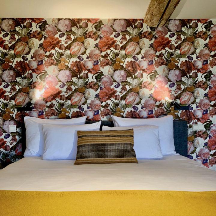 Slaapkamer in boutique hotel in Limburg