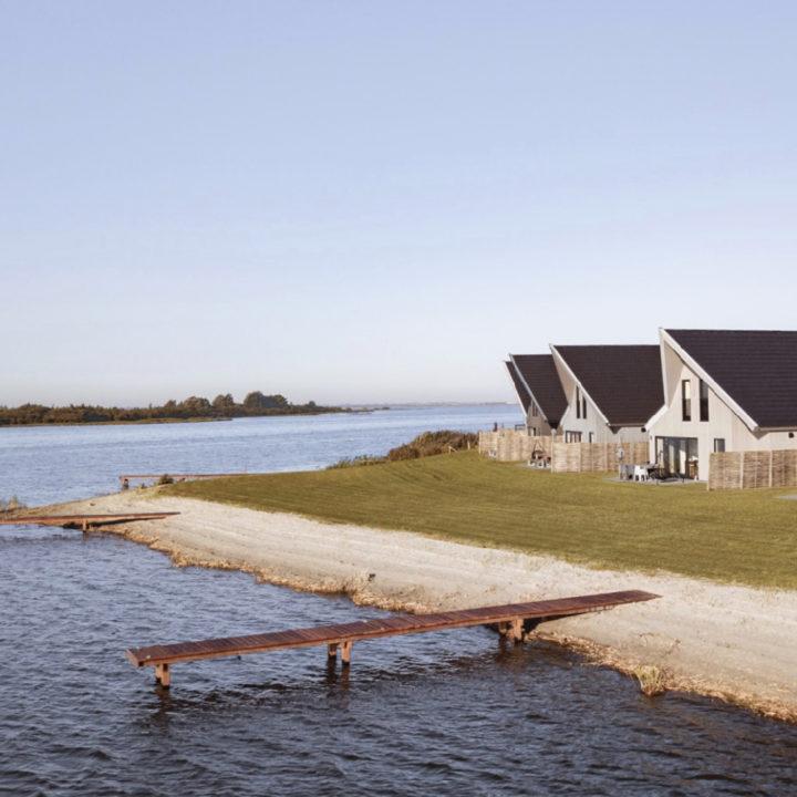 Vakantievilla's aan de rand van het Lauwersmeer