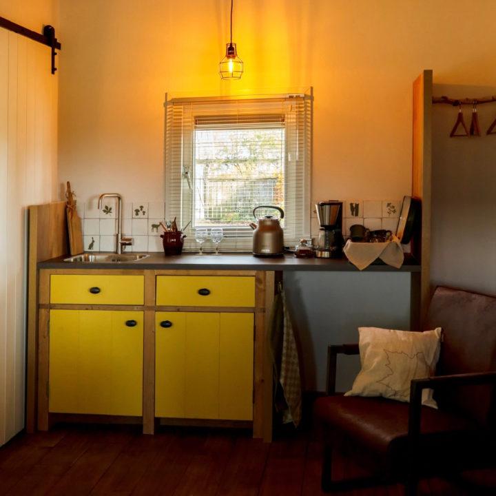 Keukenblok in het vakantiehuisje