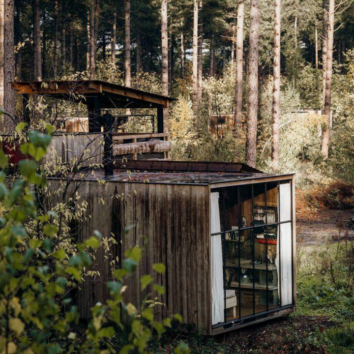 Bijzonder overnachten in een cabin in België
