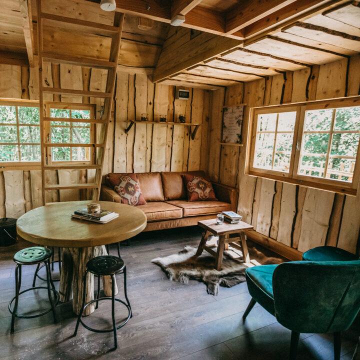 Knus houten huisje in België voor een bijzonder weekendje weg