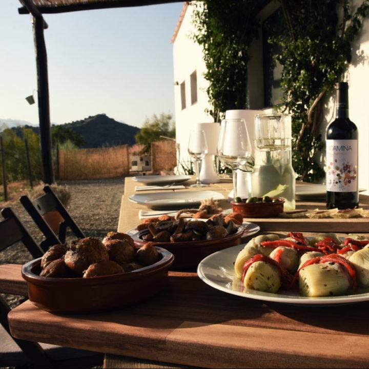Tapas eten in Andalusië