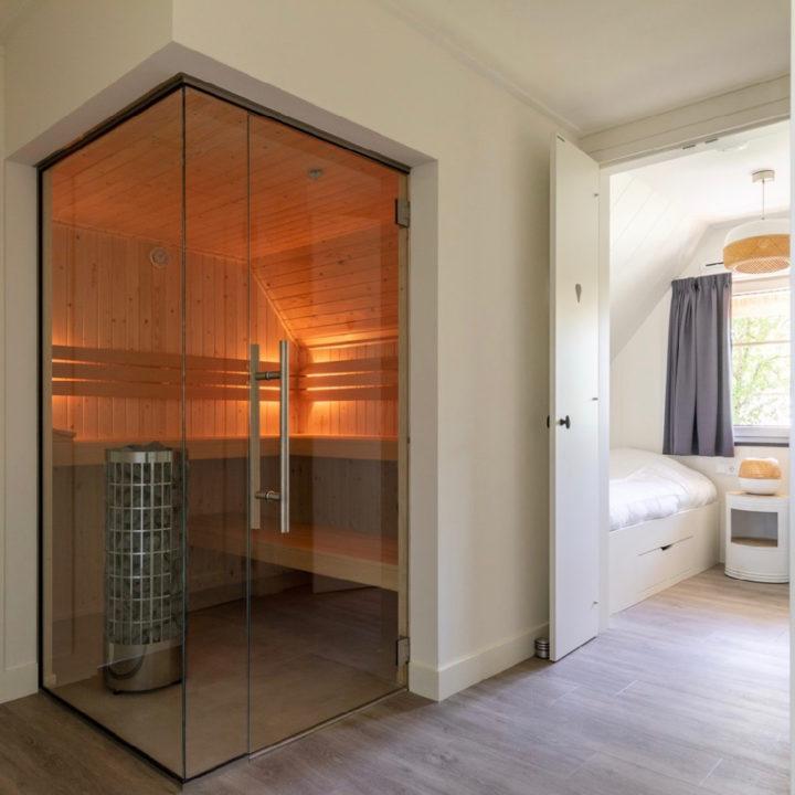 Sauna in de vakantievilla