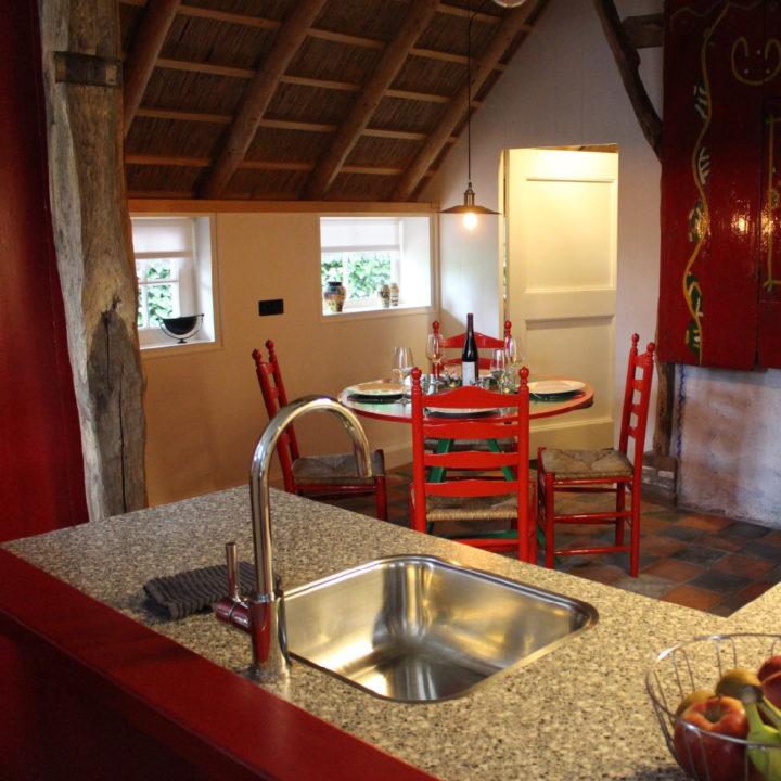 Keuken in oudHollandse stijl