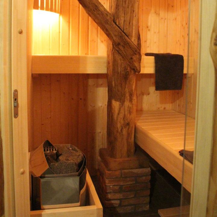 Sauna in de boerderij