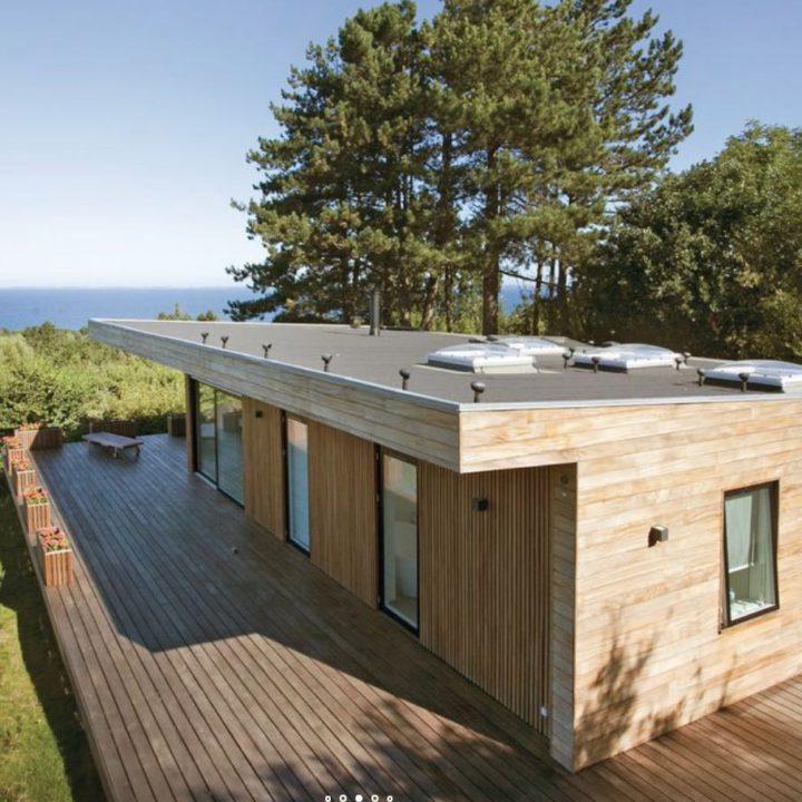 Design vakantiehuis met zeezicht