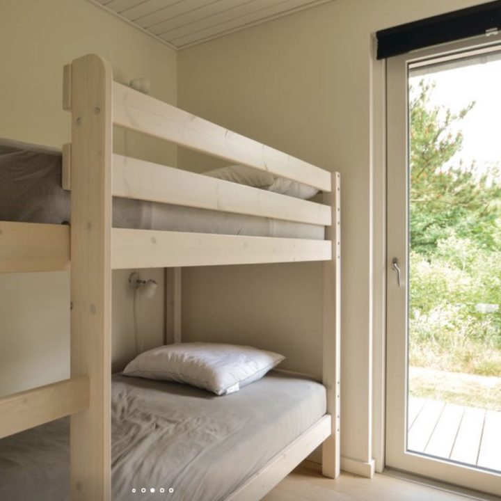 Stapelbed in de slaapkamer van het vakantiehuis