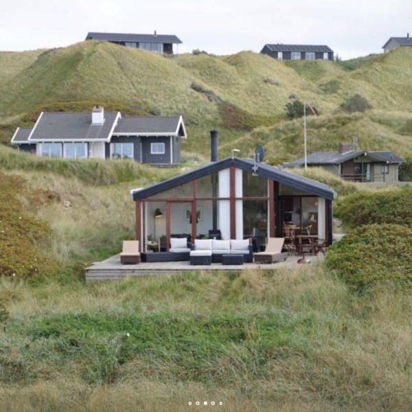 Vakantiehuis met ruime loungehoek in de duinen