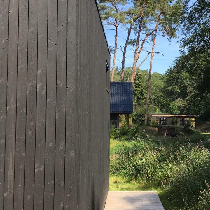 Modern vakantiehuis in het bos voor een weekend weg