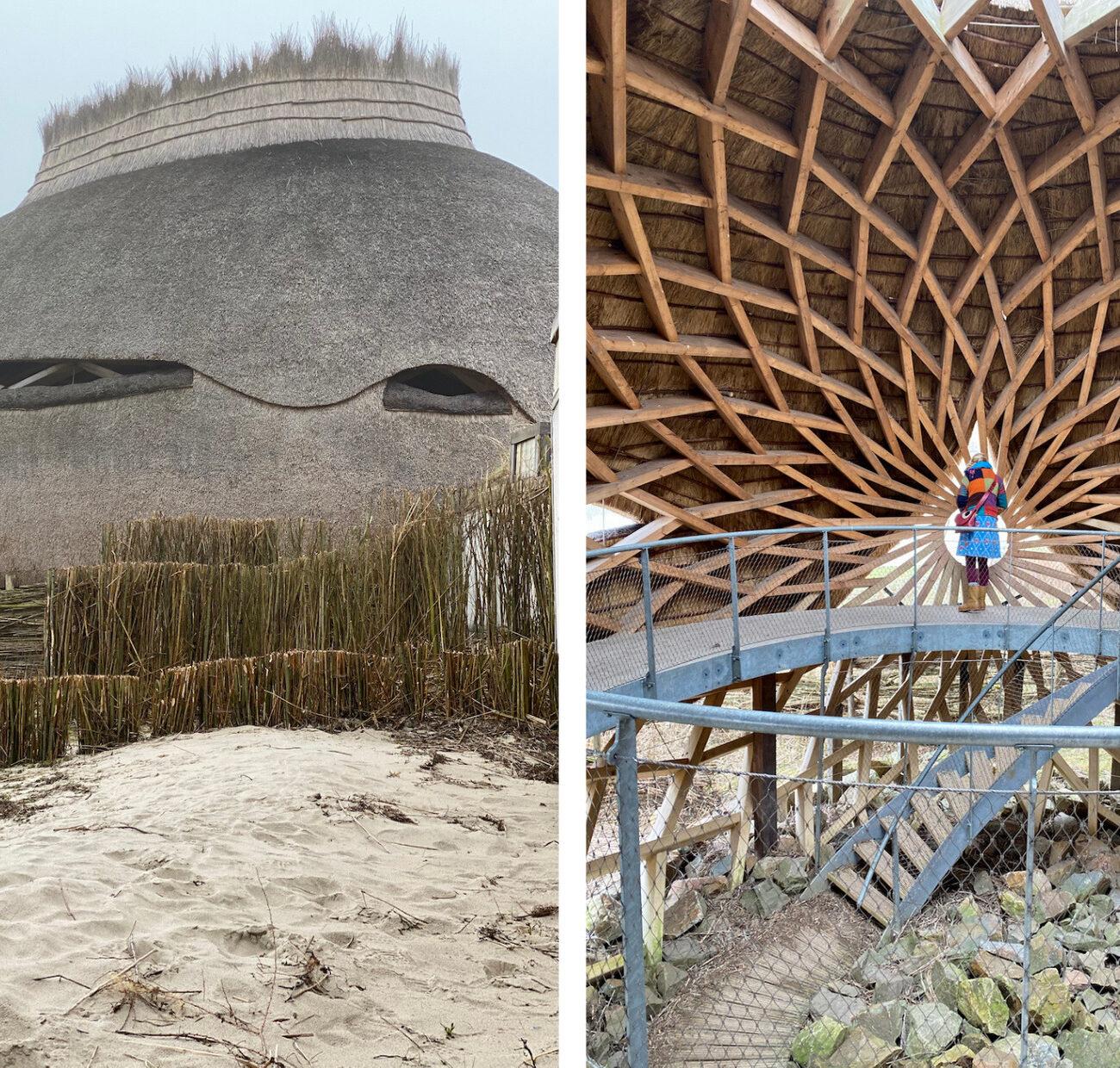 Unieke vogelkijkhut op het eiland Goeree-Overflakkee