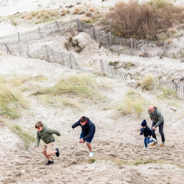Wandel vanuit Villa Plage in Oostende door de duinen naar het strand