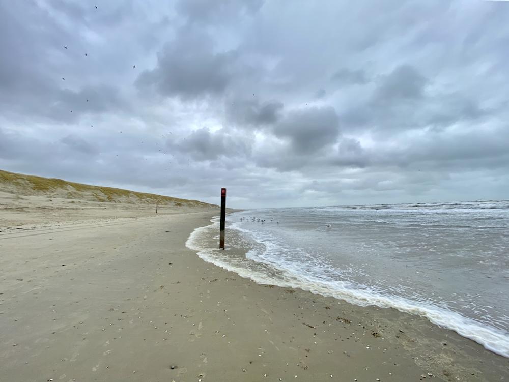 Strandwandeling op Texel