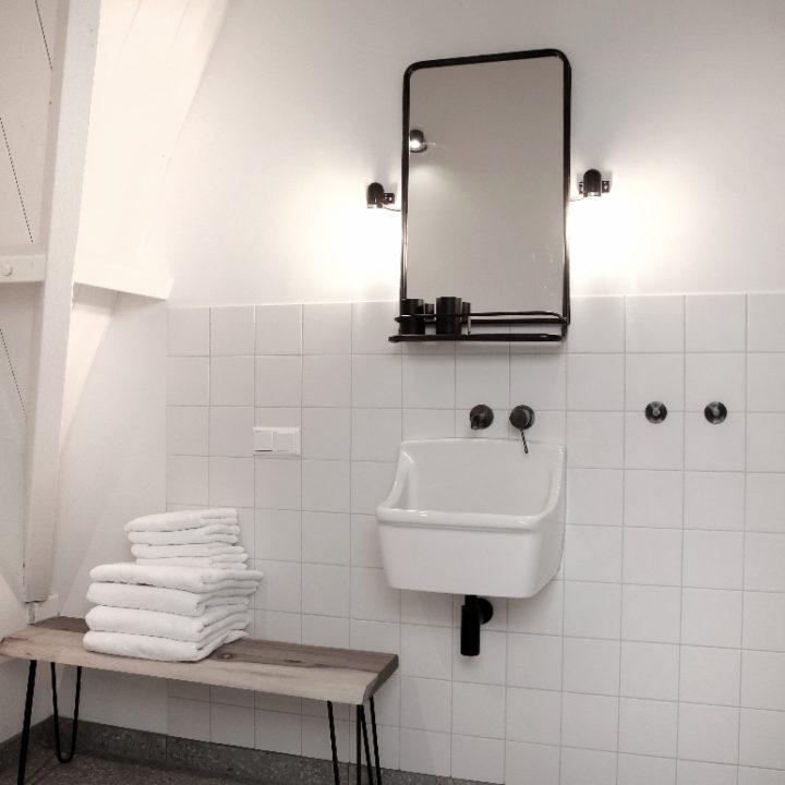 Badkamer in een vakantie appartement